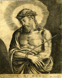 Luca Berteli según Tiziano. Ecce Homo que perteneció a Felipe II. Foto: British Museum.