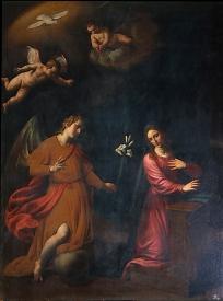 Alessandro Turchi: Anunciación. Madrid, Museo Nacional del Prado.