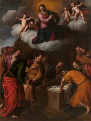 Alessandro Turchi: Asunción de la Virgen. Madrid, Museo Nacional del Prado.