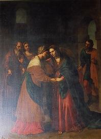 Alessandor Turchi: Visitación. Madrid, Museo Nacional del Prado.