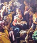 Aurelio Lomi. Adoración de los pastores. Fondazione Cassa di Risparmio de Pisa. Palazzo d'Arte e Cultura. Pisa