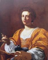 Simon Vouet. Retrato de Artemisia Gentileschi. 1623-26. Colección privada.