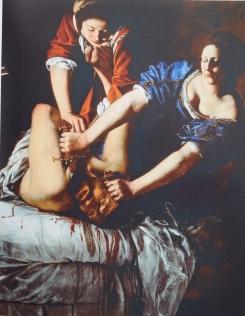 Judith cortando la cabeza a Holofernes. Museo Nacional de Capodimonte. Nápoles.
