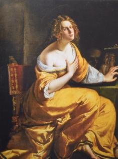 Magdalena. Galería Palatina. Florencia.