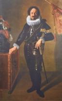 Retrato de un Gonaloniero papal. Colección comunal de Arte. Bologna.