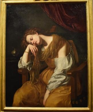 Magdalena arrepentida. Catedral de Sevilla.