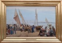 P.S. Krøyer: Pescadores volviendo del trabajo, 1875. Copenhague, Den Hirschsprungske Samling. Foto: Investigart.