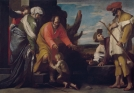 Massimo Stanzione. San Juan Bautista se despide de sus padres. Museo del Prado.
