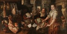 Joachim Beuckelaer. Cristo en casa de Marta y María. 1568. Museo del Prado. Madrid.