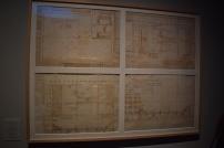Anónimo ¿Juan Gómez de Mora?, Proyecto de tablado para el auto de fe en la Plaza Mayor, 1632. Archivo de la Villa en depósito en el Museo de Historia de Madrid.