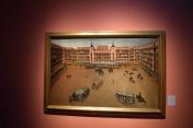 Anónimo. La Plaza Mayor de Madrid durante una corrida de toros regia, 1664. Óleo sobre lienzo 1050 x 1630 mm. Museo de Historia de Madrid.