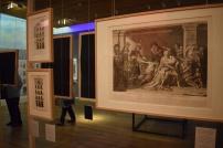 Vista del montaje de la exposición.