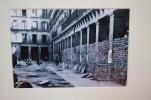 Anónimo. Plaza Mayor con sacos terreros, ca. 1939. Reproducción fotográfica.