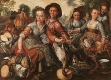 Joachim Beuckelaer. Mercado. 1564. Museo del Prado. Madrid.