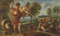 Jacob Jordaens: Cadmo y Minerva. Madrid, Museo Nacional del Prado.