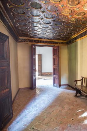 Sala de las Frutas del palacio de la Alhambra de Granada. Foto: Junta de Andalucía