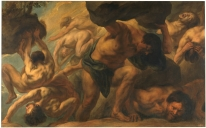 Jacob Jordaens: La caída de los Gigantes. Madrid, Museo Nacional del Prado.