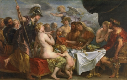 Jacob Jordaens: Las bodas de Tetis y Peleo. Madrid, Museo Nacional del Prado.