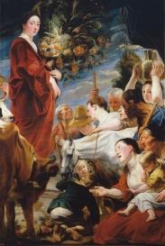 Jacob Jordaens: Ofrenda a Ceres. Madrid, Museo Nacional del Prado.