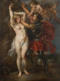 Jacob Jordaens: Perseo liberando a Andrómeda. Madrid, Museo Nacional del Prado.