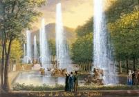 Fernando Brambilla: Vista de la Fuente de Neptuno. Patrimonio Nacional.