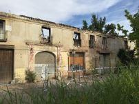 Estado del Palacio Osuna en la actualidad. Foto: Investigart.