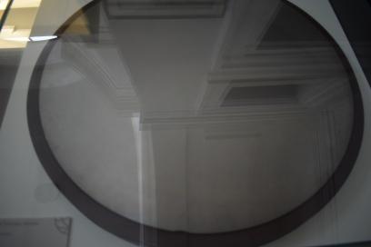 Espejo pulido original del telescopio de 25 pies de Herschel.