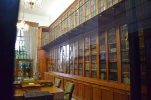 Biblioteca del Edificio Villanueva.