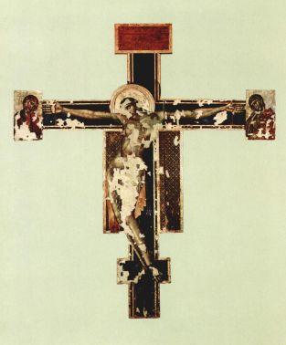 El Cristo Crucificado de Cimabue tras la restauración