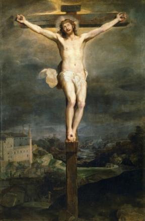 Federico Barocci: Cristo en la cruz, 1604. Madrid, Museo Nacional del Prado.