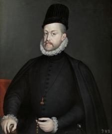 Sofonisba Anguissola. Felipe II. Museo del Prado.