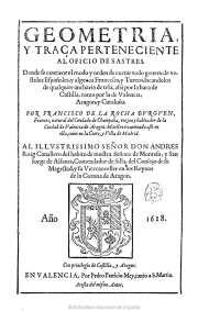 Francisco de la Rocha y Burguen, Geometría y traça perteneciente al oficio de sastres, Valencia, 1618. Biblioteca Nacional.