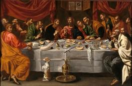 Luis Tristán: La última cena, ca. 1620. Madrid, Museo Nacional del Prado.