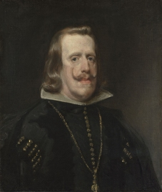 Diego Velázquez, Felipe IV. ca. 1656 https://www.nationalgallery.org.uk/paintings/NG745