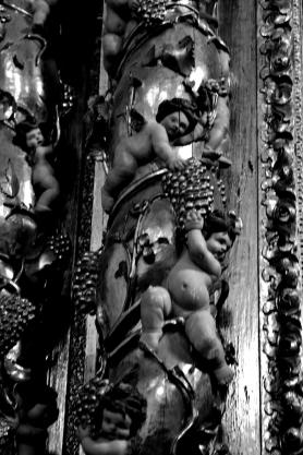 Columna Salómonica. Foto: Cipripedia.
