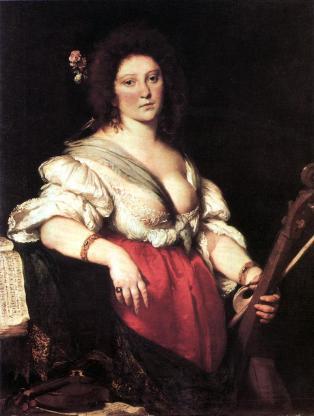Anónimo: Retrato de Barbara Strozzi. Foto: Wikimedia Commons.