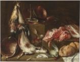 Mateo Cerezo: Bodegón de cocina. Museo del Prado. Madrid.