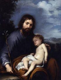 Bartolomé Esteban Murillo: San José con el niño