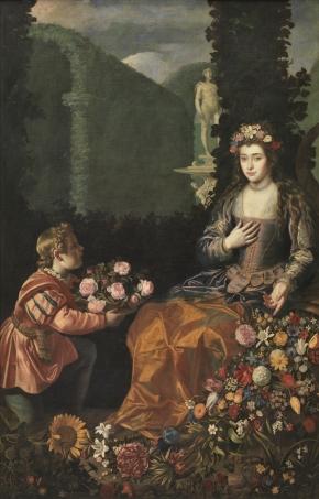Juan van der Hamen y León: Ofrenda a Flora. 1627. Museo del Prado. Madrid.