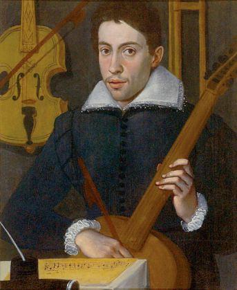 Anónimo: Retrato de Claudio Monteverdi, 1570-1590. Oxford, Ashmolean Museum.