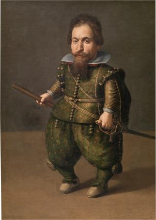 Juan van der Hamen y León: Retrato de enano. 1626. Museo del Prado. Madrid.