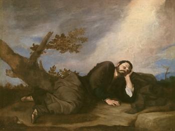 José de Ribera: El sueño de Jacob