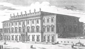 Bernini. Palazzo Chigi-Odescalchi, Roma (1664)