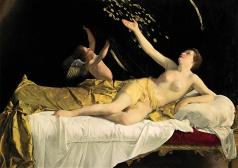 Orazio Gentileschi: Danae. Vendido en Sotheby's Nueva York.