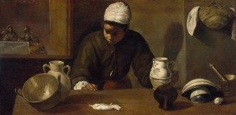 Diego Velázquez. La cena de Emaus. 1618-22. National Gallery de Dublín. Foto: wikipedia.