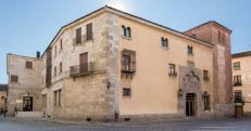 Casa-palacio de Gonzalo Dávila, o Palacio de Valderrábanos, ca. 1460. Foto: hotelpalaciovalderrabanos.com