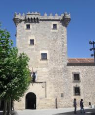 Palacio de los Mújica o Torreón de los Guzmanes, primera mitad s. XVI. Foto: Mario Adanero Mazarío.