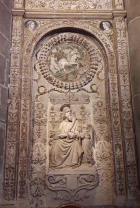 Panel de San Mateo en la catedral de Ávila. Foto: Mario Adanero Mazarío.