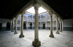 Patio del Palacio de Polentinos. Foto: avilaturismo.com