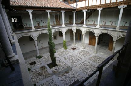 Patio del palacio de los Verdugo o de Suero del Águila. Foto: avilaturismo.com